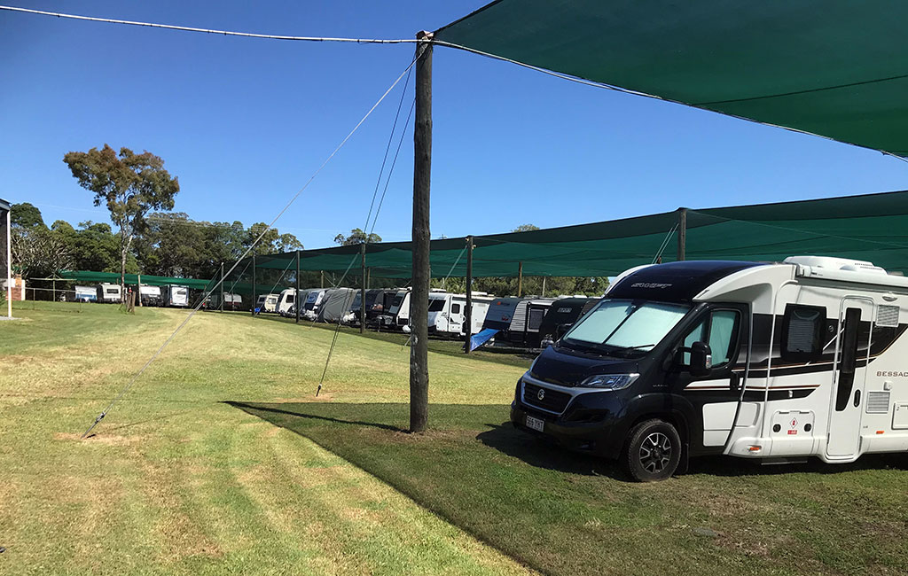 Shaded Caravan Storage Brisbane