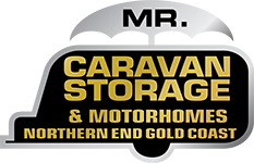 Mr Caravan Storage Logo